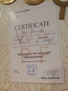 WAPF, Wellness akademija Pedja Filipovič, tečaj za maderoterapijo