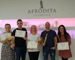 Kozmetika Afrodita team in madero coach Matej